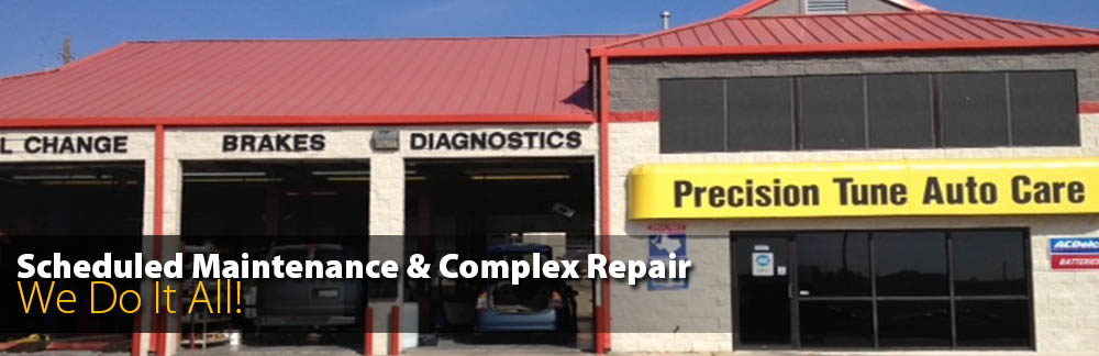 Scheduled Repair and Complex Repair - We do it All!